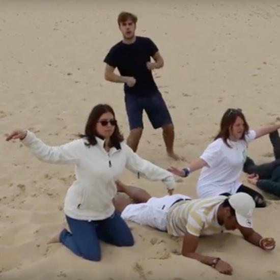 Un projet vidéo dans le cadre du projet Green Europe à Mérignac