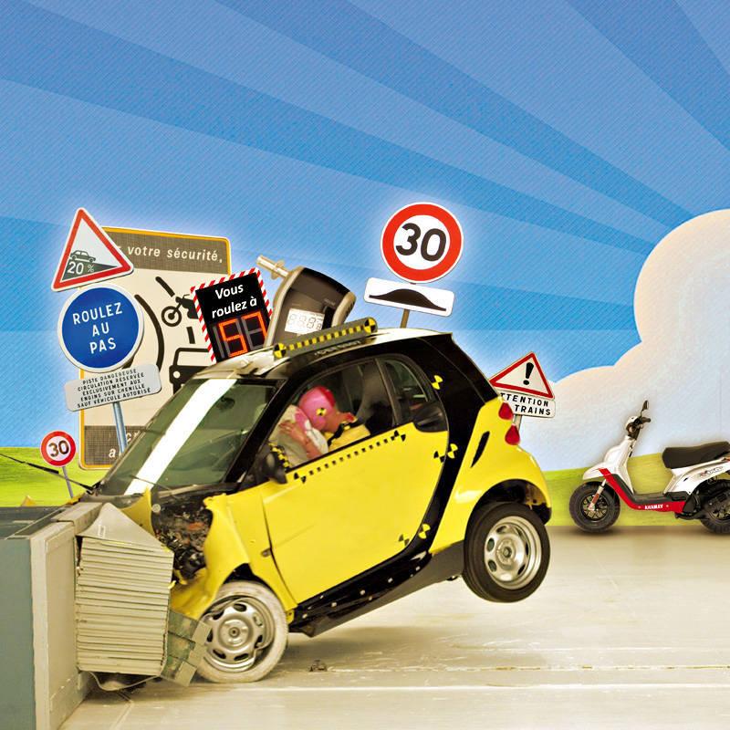 Sécurité routière : la vie n'est pas une course