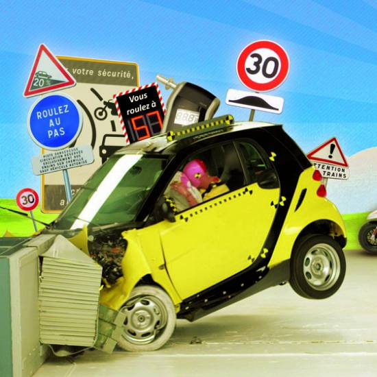 Sécurité routière : la vie n'est pas une course !